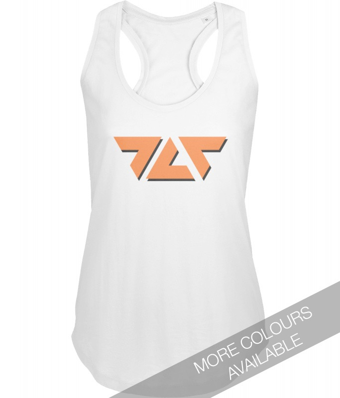 TLT Logo Ladies Vest - designed by The Love Tectonic