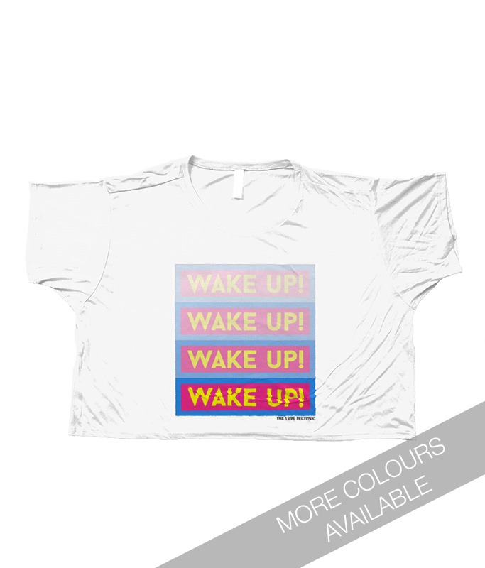 Wake Up Flowy Top designed by The Love Tectonic