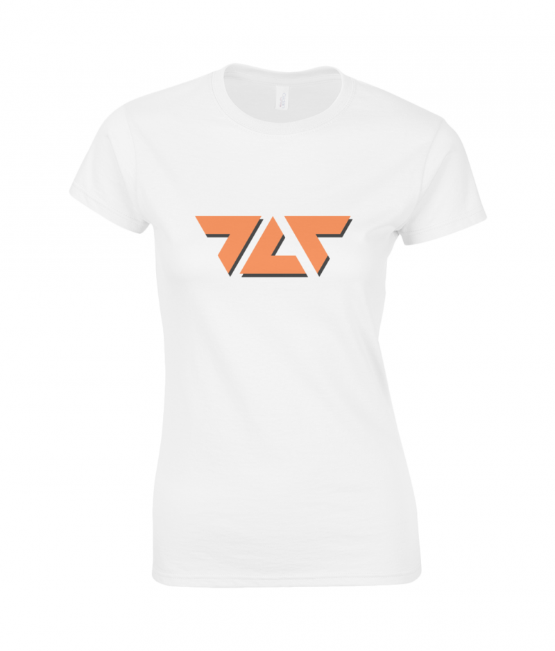 TLT Logo Ladies Slim Fit T-Shirt - designed by The Love Tectonic
